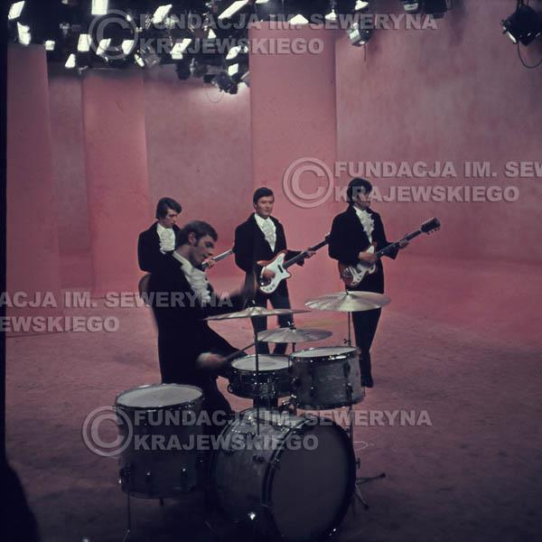 # 364 - Czerwone Gitary 1967r, telewizja w Warszawie, promocja trzeciej płyty
