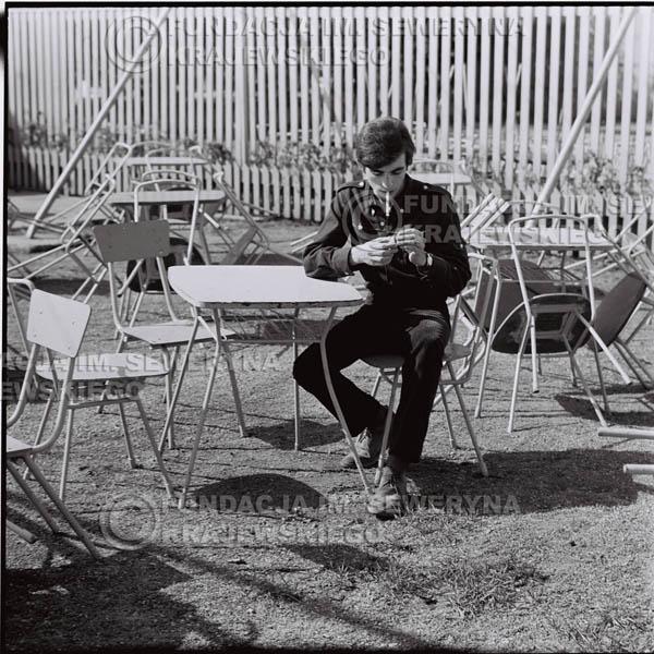 # 415 - Seweryn Krajewski, 1967r. sesja w Sopocie (zdjęcia dla fanów do autografów)