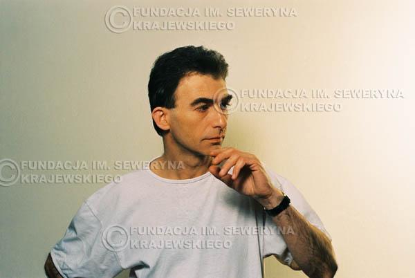 # 41 - Leszek Fidusiewicz. Sesja do okładki 'Strofki na gitarę (2)' - 1993 r.