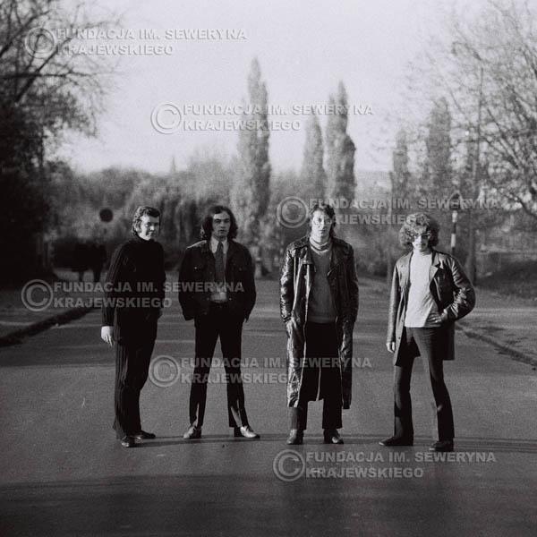# 504 - 'Trzy Korony' 1970r - Od lewej:  Ryszard Klenczon, Piotr Stajkowski, Krzysztof Klenczon, Grzegorz Andrian