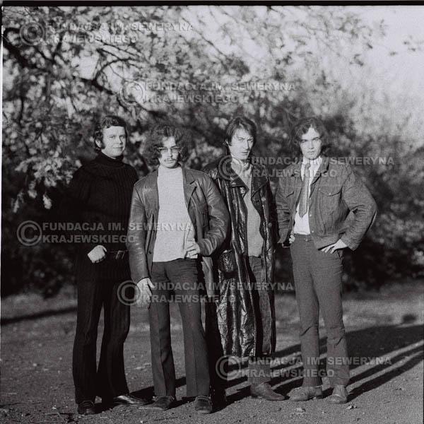 # 512 - 'Trzy Korony' 1970r - Od lewej: Ryszard Klenczon, Grzegorz Andrian Krzysztof Klenczon, Piotr Stajkowski