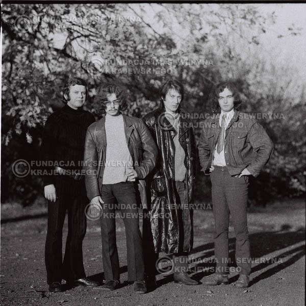 # 513 - 'Trzy Korony' 1970r - Od lewej: Ryszard Klenczon, Grzegorz Andrian Krzysztof Klenczon, Piotr Stajkowski