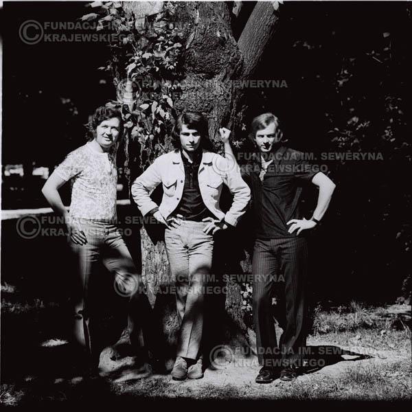 # 696 - 1970r. Czerwone Gitary w składzie: Seweryn Krajewski, Bernard Dornowski, Jerzy Skrzypczyk.