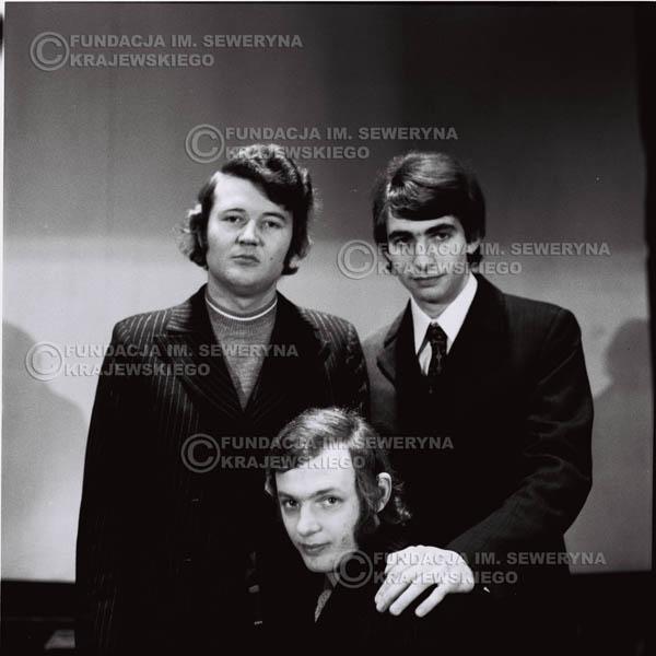 # 736 - Czerwone Gitary 1970r. w składzie: Seweryn Krajewski, Jerzy Skrzypczyk i Bernard Dornowski