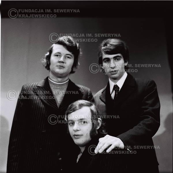 # 740 - Czerwone Gitary 1970r. w składzie: Seweryn Krajewski, Jerzy Skrzypczyk i Bernard Dornowski