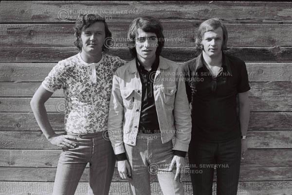 # 754 - 1970r. Warszawa, Czerwone Gitary w składzie: Seweryn Krajewski, Bernard Dornowski, Jerzy Skrzypczyk