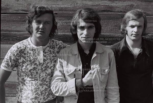 # 759 - 1970r. Warszawa, Czerwone Gitary w składzie: Seweryn Krajewski, Bernard Dornowski, Jerzy Skrzypczyk