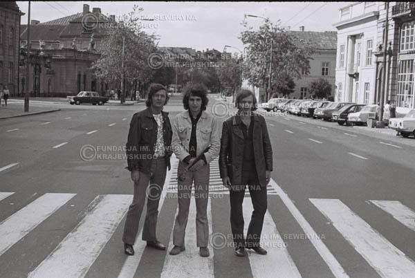 # 761 - 1970r. Warszawa, Czerwone Gitary w składzie: Seweryn Krajewski, Bernard Dornowski, Jerzy Skrzypczyk