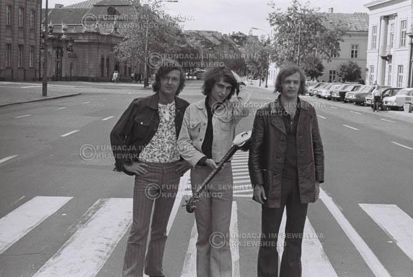 # 764 - 1970r. Warszawa, Czerwone Gitary w składzie: Seweryn Krajewski, Bernard Dornowski, Jerzy Skrzypczyk