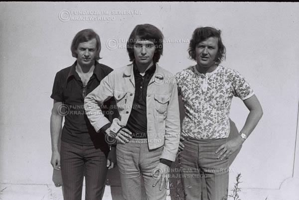 # 766 - 1970r. Warszawa, Czerwone Gitary w składzie: Seweryn Krajewski, Bernard Dornowski, Jerzy Skrzypczyk
