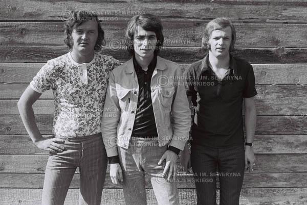 # 771 - 1970r. Warszawa, Czerwone Gitary w składzie: Seweryn Krajewski, Bernard Dornowski, Jerzy Skrzypczyk