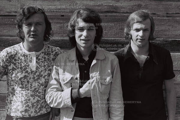 # 774 - 1970r. Warszawa, Czerwone Gitary w składzie: Seweryn Krajewski, Bernard Dornowski, Jerzy Skrzypczyk
