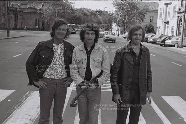 # 779 - 1970r. Warszawa, Czerwone Gitary w składzie: Seweryn Krajewski, Bernard Dornowski, Jerzy Skrzypczyk