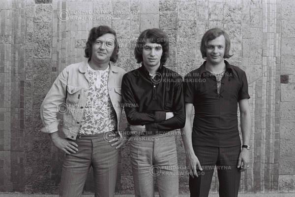# 786 - 1970r. Warszawa, Czerwone Gitary w składzie: Seweryn Krajewski, Bernard Dornowski, Jerzy Skrzypczyk