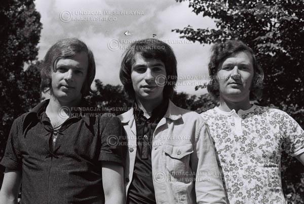 # 792 - 1970r. Warszawa, Czerwone Gitary w składzie: Seweryn Krajewski, Bernard Dornowski, Jerzy Skrzypczyk