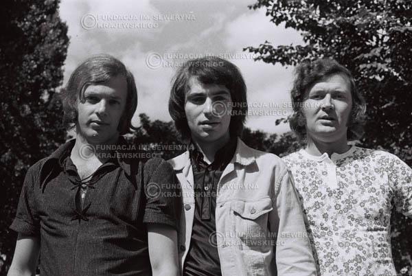 # 794 - 1970r. Warszawa, Czerwone Gitary w składzie: Seweryn Krajewski, Bernard Dornowski, Jerzy Skrzypczyk