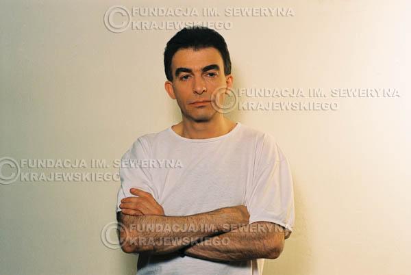 # 7 - Leszek Fidusiewicz. Sesja do okładki 'Strofki na gitarę (2)' - 1993 r.