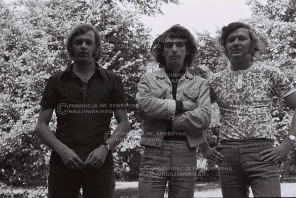 # 806 - 1970r. Warszawa, Czerwone Gitary w składzie: Seweryn Krajewski, Bernard Dornowski, Jerzy Skrzypczyk