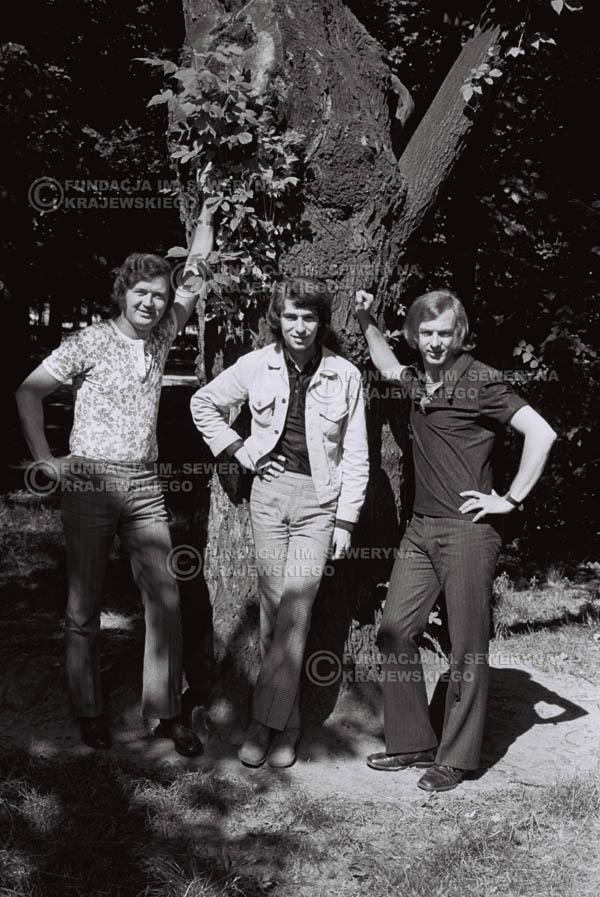 # 820 - 1970r. Warszawa, Czerwone Gitary w składzie: Seweryn Krajewski, Bernard Dornowski, Jerzy Skrzypczyk