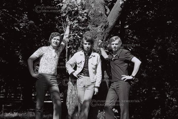 # 822 - 1970r. Warszawa, Czerwone Gitary w składzie: Seweryn Krajewski, Bernard Dornowski, Jerzy Skrzypczyk