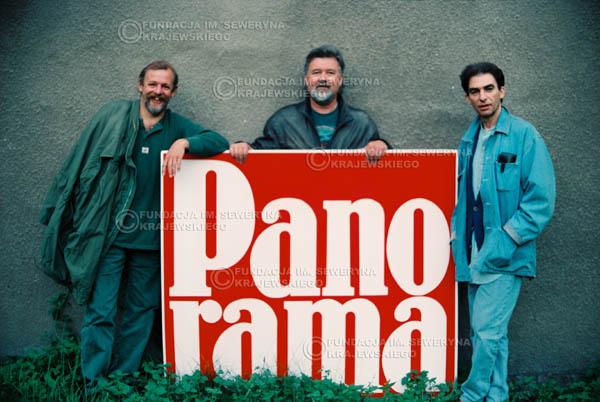 # 887 - 1991r. Od lewej: Jerzy Skrzypczyk, Bernard Dornowski, Seweryn Krajewski