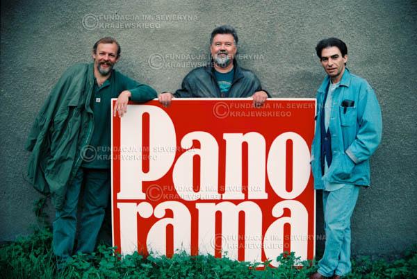 # 888 - 1991r. Od lewej: Jerzy Skrzypczyk, Bernard Dornowski, Seweryn Krajewski