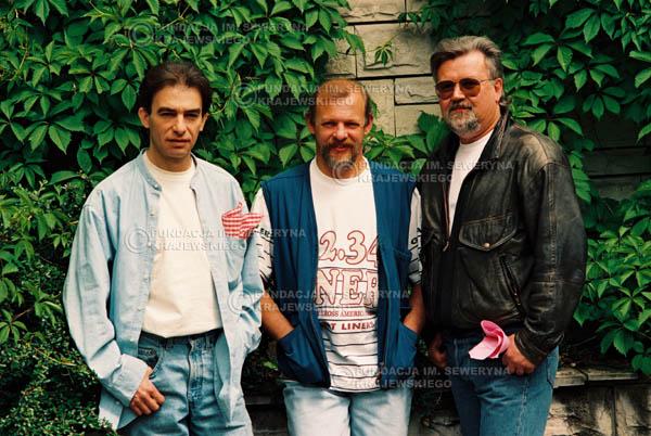 # 890 - 1991r. sesja zdjęciowa w Michalinie, Czerwone Gitary w składzie (come back):Seweryn Krajewski, Bernard Dornowski, Jerzy Skrzypczyk