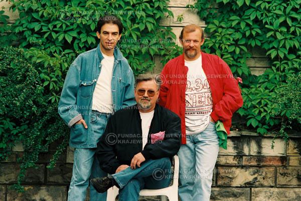 # 898 - 1991r. sesja zdjęciowa w Michalinie, Czerwone Gitary w składzie (come back):Seweryn Krajewski, Bernard Dornowski, Jerzy Skrzypczyk