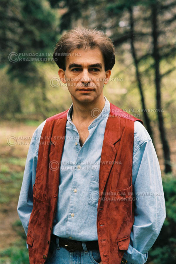 # 901 - Seweryn Krajewski 1991r., sesja zdjęciowa w Michalinie