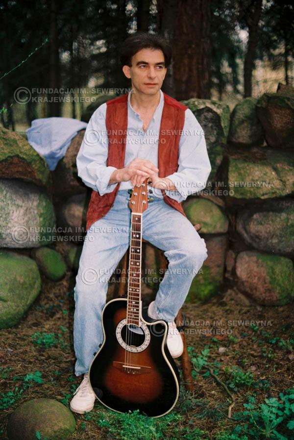 # 903 - Seweryn Krajewski 1991r., sesja zdjęciowa w Michalinie