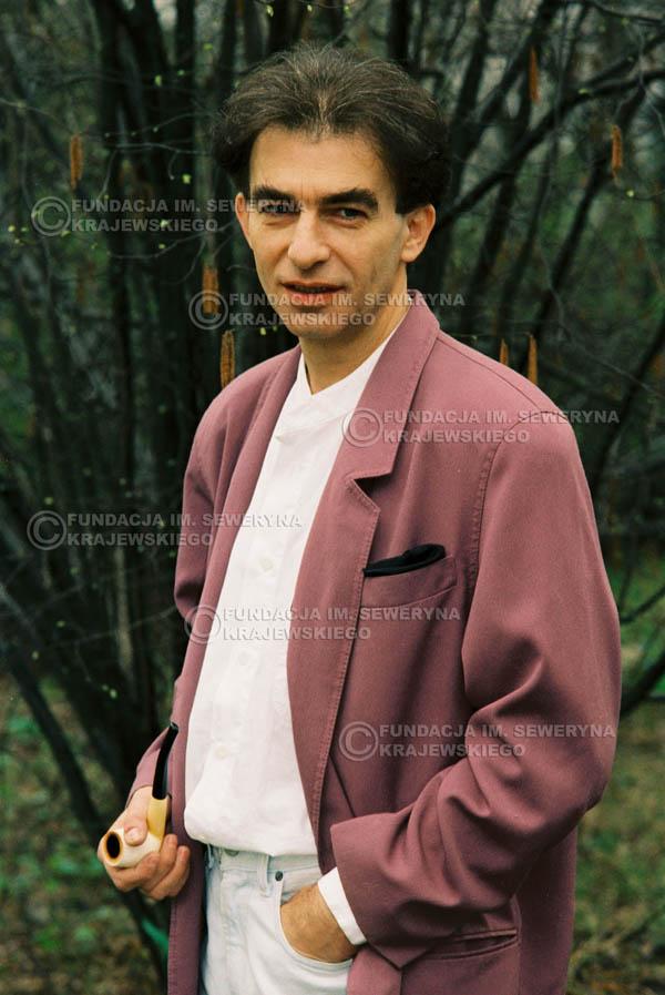 # 926 - Seweryn Krajewski 1991r. sesja zdjęciowa w Michalinie.