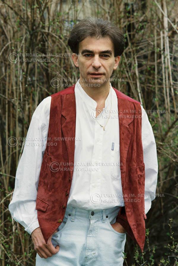 # 953 - 1991r. sesja zdjęciowa w Michalinie, Seweryn Krajewski