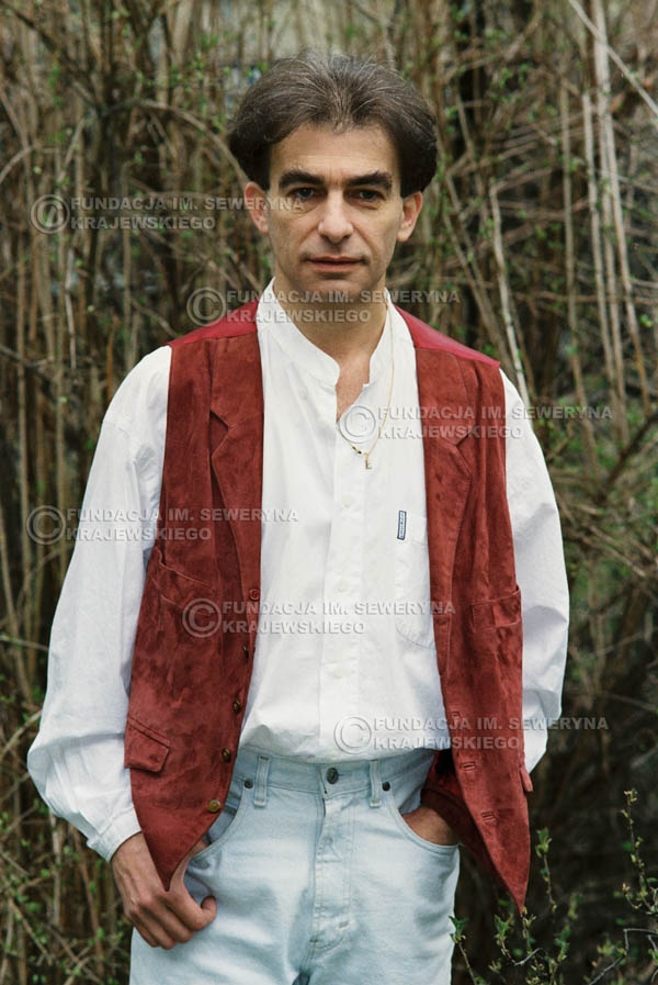 # 954 - 1991r. sesja zdjęciowa w Michalinie, Seweryn Krajewski