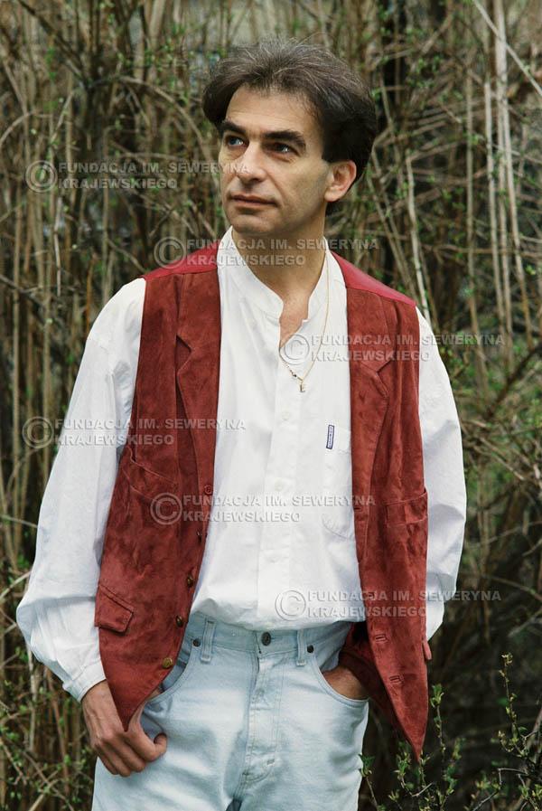 # 956 - 1991r. sesja zdjęciowa w Michalinie, Seweryn Krajewski