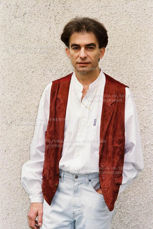 # 957 - 1991r. sesja zdjęciowa w Michalinie, Seweryn Krajewski