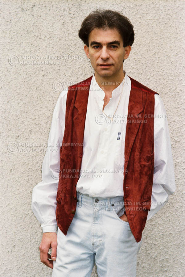# 958 - 1991r. sesja zdjęciowa w Michalinie, Seweryn Krajewski