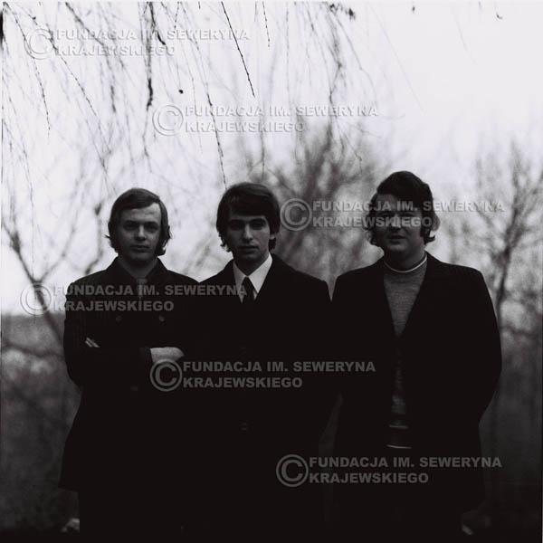 # 963 - 1970r. Czerwone Gitary w składzie: Seweryn Krajewski, Jerzy Skrzypczyk, Bernard Dornowski