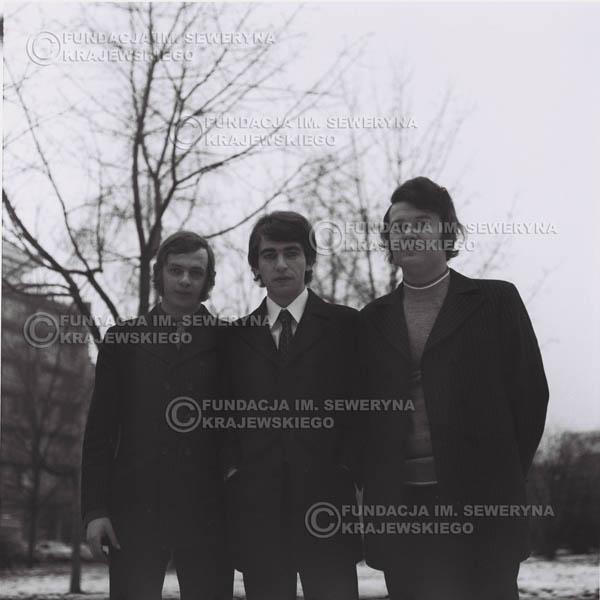 # 970 - 1970r. Czerwone Gitary w składzie: Seweryn Krajewski, Jerzy Skrzypczyk, Bernard Dornowski