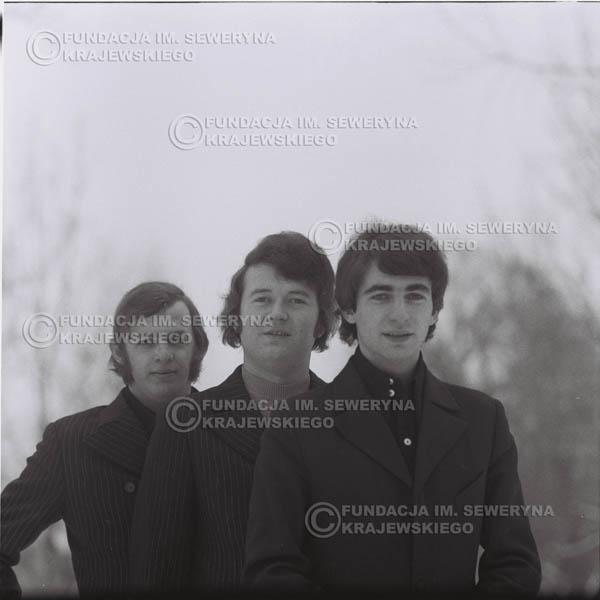 # 978 - Czerwone Gitary w składzie: Seweryn Krajewski, Bernard Dornowski, Jerzy Skrzypczyk, zima 1970r.