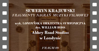 Fragmenty nagrań muzyki filmowej